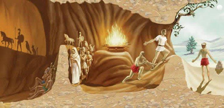 Alegoria da caverna de Platão