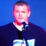 "[Matt Damon] ""O problema é a obediência civil"" – Vídeo"