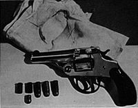 o-revolver-Iver-Johnson-calibre-32-semi-automatico-utilizado-na-execucucao-do-presidente-William-McKinley