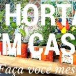 Manual Online ensina como cultivar horta em casa (ou no apê)