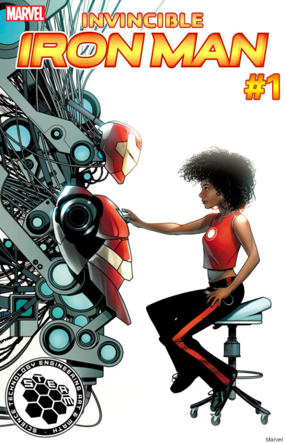 Riri Williams, substituta negra do Homem de Ferro